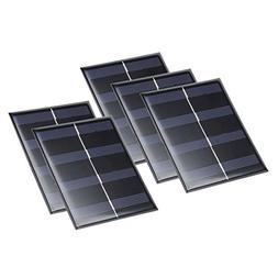uxcell 5Pcs 2V 130mA Poly Mini Solar Cell Panel Module DIY f