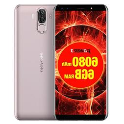 Ulefone Power 3 6GB+64GB 6080mah Big Battery 6.0 inch Androi