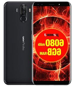 Ulefone Power 3 Cell Phone 6.0 inch 18:9 FHD P23 Octa Core 6