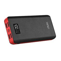Power Bank 24000mAh Portable Charger Battery Pack 4 OutPut P