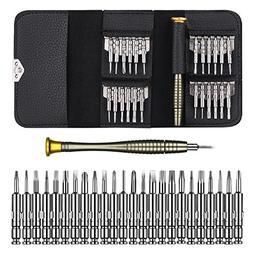 Precision Screwdriver Set 25 in 1 Screwdrivers Wallet Kit Re