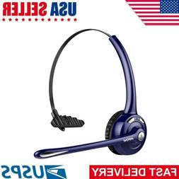 Mpow Pro Trucker Bluetooth Headset Office Wireless Cell Phon