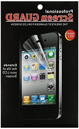 Generic Screen Protector Compatible with iPhone 5, 3-Pack -