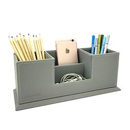 pu leather 4 compartment desk