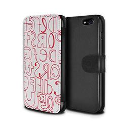 STUFF4 PU Leather Wallet Flip Case/Cover for Apple iPhone 7
