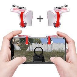 Qoosea Mobile Game Controller Triggers Gamepad L1 R1 Sensiti