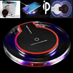 Qi Fast Wireless Phone Charger Charging Pad For Galaxy S6 S7