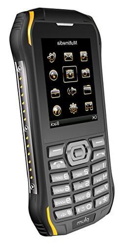 Plum Ram 6 - Rugged Unlocked Cell Phone GSM Shock Water Proo