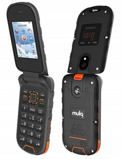 Plum Ram 8 Rugged Flip Phone 3G GSM Unlocked ATT Tmobile Met