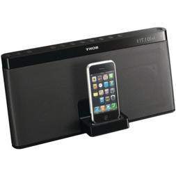 SONY RDPXF100IP IPOD/IPHONE 3G PORTABLE SPEAKER DOCK WITH FM