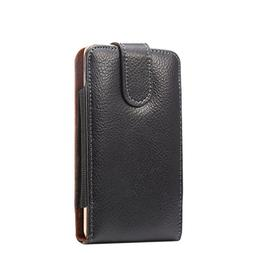 Real Leather Vertical Executive Holster Belt Clip Pouch Case
