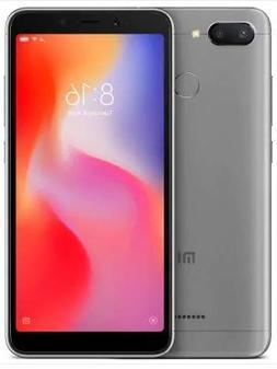 Xiaomi Redmi 6 64GB + 4GB RAM, Dual Camera, LTE Factory Unlo