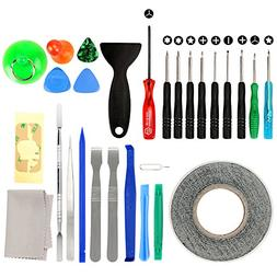 27 in 1 Cell Phone iPhone Repair Screwdriver Kit Tool with S