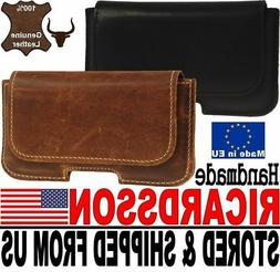 # RICARDSSON REAL GENUINE LEATHER BELT LOOP HOLSTER POUCH CA