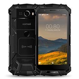 Rugged Cell Phones Unlocked, Aermoo M1 4G LTE Dual Sim GSM O