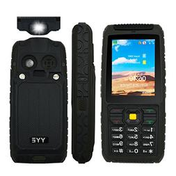 Rugged GSM Cell Phone, Unlocked Cell Phone Power Bank Tough