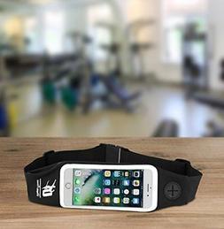 Running Waist Belt Mobile Phone Holder Pouch Case Touch Cont