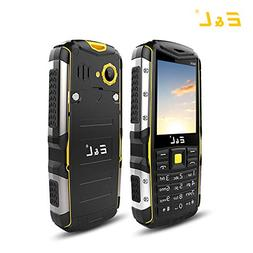 E&L S600 Rugged Unlocked Smartphone with IP68 Waterproof Dus