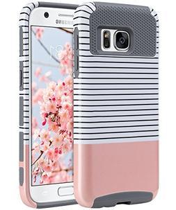 ULAK S7 Case, Galaxy S7 Case, Hybrid Case for Samsung Galaxy