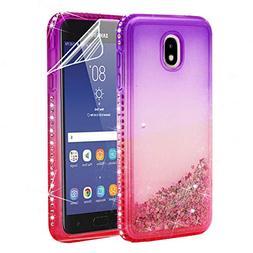 Samsung Galaxy J7 2018 Case with HD Screen Protector,Galaxy