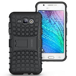 Samsung Galaxy J7  Case Cover - Tough Rugged Dual Layer Prot