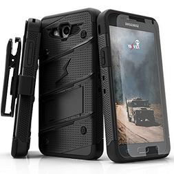 Samsung Galaxy J7 Prime Case, Zizo  w/  Kickstand  Holster -