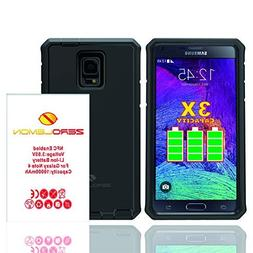 Zerolemon Samsung Galaxy Note 4 10000mah Extended Battery wi