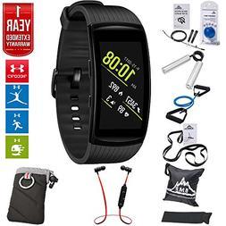Samsung Gear Fit2 Pro Fitness Smartwatch - Black, Large  + F