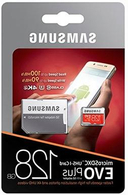 Samsung 128GB MicroSD XC Class 10 Grade 3 UHS-3 Mobile Memor