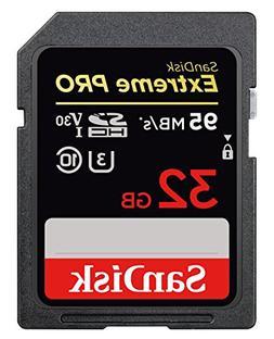 sandisk extreme pro 32gb sdhc uhs i card