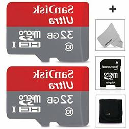 SanDisk 32GB Micro SD Memory Card - 2 PACK  for Huawei Honor