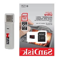 SanDisk Ultra 128GB MicroSD XC Class 10 UHS-1 Mobile Memory