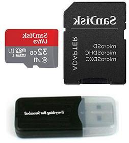 SanDisk 32GB Ultra UHS-I Class 10 Micro SDXC Memory Card wor