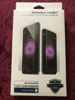 Tech Armor Screen Protector Cell Phone iPhone 6 6s HD Clear