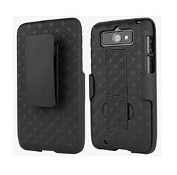 Verizon Shell Holster Combo Case with Kickstand for DROID MI