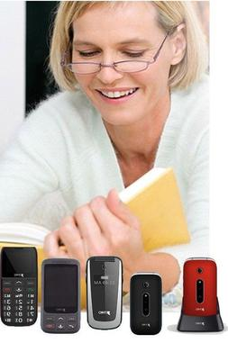 SIMPLE BIG BUTTON IMAGE GSM MOBILE CELL PHONE FOR KIDS SENIO