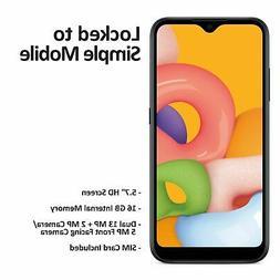 Simple Mobile Samsung Galaxy A01 4G LTE Prepaid Cell Phone