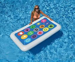 """68"""" Multi-Color Smart Phone Inflatable Novelty Swimming Pool"""