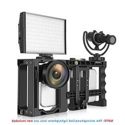 Zecti Smart Phone Video Rig Adjustable Camera Rig for Phone