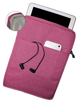 Soft Interior, Thick, Protective Sleeve Case Pouch For iPad