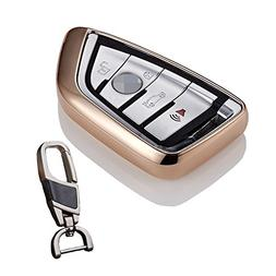 Soft TPU smart case cover for BMW smart key chain fit X1 X5