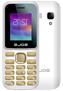 EKO Mobile Sole C22 Unlocked GSM 2G Candy Bar Cell Phone Dua