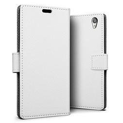 SLEO Sony Xperia L1 Case - SLEO Luxury Slim PU Leather Flip