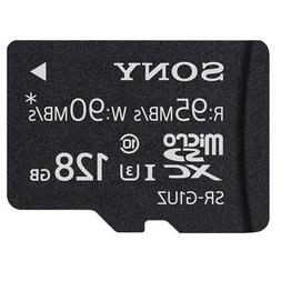 Sony High Speed Micro SD Memory Card, 128GB