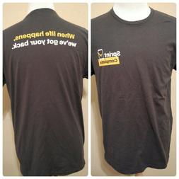 Sprint Complete Employee T-Shirt 2XL Cell Phone Carrier Mobi