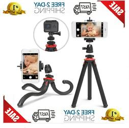 Xenvo SquidGrip iPhone Tripod, GoPro Tripod - Flexible Cell