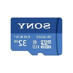 Sony SR-32UX2A/LT High Speed 32GB Class 10 U3 Micro SDHC UHS