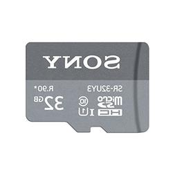 Sony SR-32UY3A/GT High Speed 32GB Class 10 Micro SDHC UHS-I