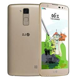 LG Stylo 2 Plus 16 GB Smartphone, Gold - T-Mobile Locked