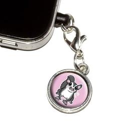 Graphics and More Sugar Glider on Pink Anti-Dust Plug Univer